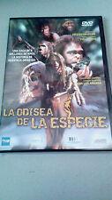 """DVD """"LA ODISEA DE LA ESPECIE"""" COMO NUEVA JACQUES MALATERRE YVES COPPENS JUAN LUI"""