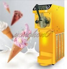 NEW Mini Soft Ice Cream Machine Vertical One-head Automatic Ice Cream Maker 110V