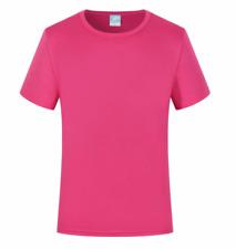 Mens Quick Drying Short Sleeve O-Neck Tops Women T-Shirts Tee Sports Run Outdoor