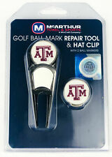 Texas A&M Aggies Golf Hat Clip, Divot Tool and Ball Marker Combo