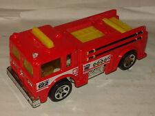camion de pompier  hotwheels 1/64 Hot Wheels