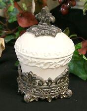 DRAKE DESIGN CERAMIC ROUND JAR CANISTER LID & BASE NEW IN BOX