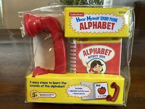 Lakeshore Learning Hear Myself Sound Phone Alphabet Set Never Used! EE525 LOOK!