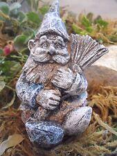 "Latex Only gnome / elf concrete plaster mold 4""H x 2.5""W"