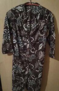 Robe chemise longue Maje