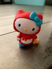 """Hello Kitty Costume Collection - Red Riding Hood Vinyl  Figure 2"""" tall"""