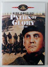 PATHS OF GLORY / STANLEY KUBRICK / KIRK DOUGLAS / 1957 ANTI WAR CLASSIC / R2 PAL