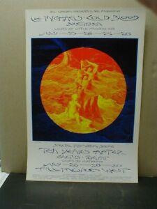 ORIGINAL1970 BILL GRAHAM BG 244 FILLMORE WEST POSTER - LEE MICHAELS, COLD BLOOD