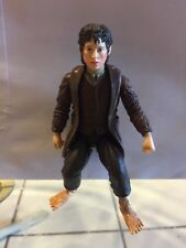 LOTR Lord of the Rings Frodo Sword Attack Action Figure Toy Biz Marvel
