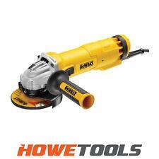 """DEWALT DWE4206 240v Angle grinder 4.1/2"""" (115mm)"""