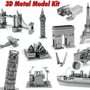 3D Metal Puzzle Model Kit Adult Educational Toy Building Engineering Gift AU