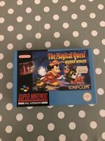 SNES The Magical Quest starring Mickey Mouse. Super Nintendo Cib  Vgc