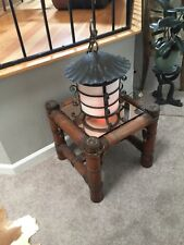 Very Old Asian Look Iron Lamp. $ 139.99 Plus $ 27.00 Shipping