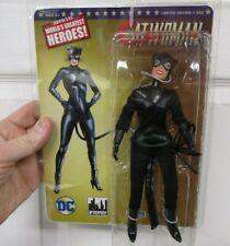 "Batman CATWOMAN 8"" Figure BLACK COSTUME EXCLUSIVE Limited Edition Retro-Mego MOC"