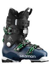 SALOMON QST ACCESS 80 SKI BOOT IN BLACK/PETROL BLUE SIZE 26.5