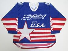 TEAM USA AUTHENTIC CCM ROLLER HOCKEY JERSEY SIZE 54 **RARE**