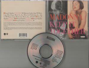 Madonna  CD-MAXI  KEEP IT TOGETHER  ©  1990  /    5  TRACK