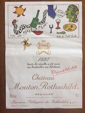 Étiquette  Mouton Rothschild 1997 - 15 litres