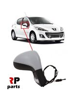 FOR PEUGEOT 207 06-12 NEW WING MIRROR MANUAL PRIMED WITH INDICATOR RIGHT LHD