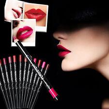 Women 12 Colors Lots Professional Lipliner Waterproof Lip Liner Pencil Cosmetic