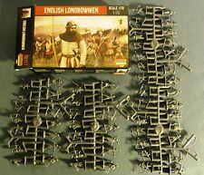 Strelets English Longbowmen M117  1/72 MIB plastic medieval figures