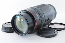 Canon EF 100-300mm F/5.6 L Macro lens w/Caps [Excellent++] F/S From Japan