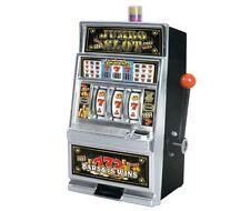 Lucky Sevens Jumbo Slot Machine Bank Replica Game Machine Token Slots Casino NEW