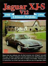 Jaguar Xjs Book V12 Ultimate Portfolio 1988-1996 Xj V12 V-12 Rs