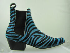 Mid Heel (1.5-3 in.) Animal Print Cuban Boots for Women