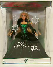 2004 Holiday Barbie Special Ed Collector's Doll #H5848 Green Velvet Gown Nrfb