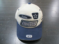 VINTAGE Puma Dallas Cowboys Strap Back Hat Cap White Blue NFL Football 90s *