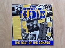 THE GONADS . REVENGE OF THE GONADS LP . BEST OF