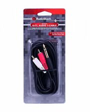 RadioShack 4202546 Shielded 6 Foot Audio Y Cable (IL/PL1-5859-4200495-UG)