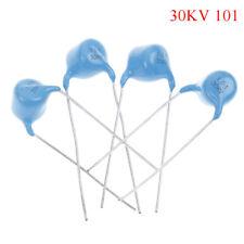 10Pcs 30KV 100P 100PF 101 high voltage ceramic capacitor 30KV 101K VU