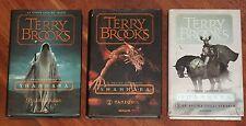 IL DRUIDO SUPREMO DI SHANNARA di Terry Brooks TRILOGIA COMPLETA I° Ed. Mondadori