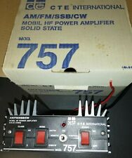Amplificatore lineare CTE mod 757 AM/FM/SSB/CW per radioamatori