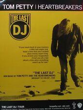 TOM PETTY POSTER, LAST DJ (F7)