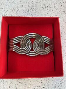 Lara Bohinc Large Platinum Solar Eclipse Bracelet - Vintage - Immaculate - Boxed