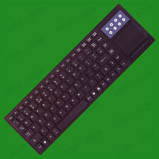 USB Wireless Media Centre Slim Keyboard with Touchpad, Multimedia, PC & MAC
