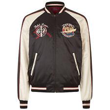 Polo Ralph Lauren Men's Satin Souvenir Alaska Bomber Jacket