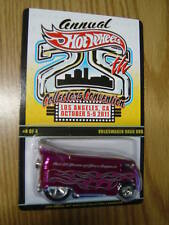 Hot Wheels PINK VW Drag Bus #4 Finale 25th LA CA 2011 Convention # 427 RARE