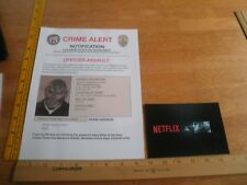 Netflix BRIGHT wanted paperwork SDCC 2017 experience Will Smith promo items lot