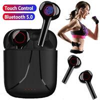 TWS Bluetooth5.0 Wireless Headphones Earbuds Earphones Earbud for iPhone Android