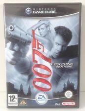 Gamecube Nintendo James Bond 007 : Everything Or Nothing * NEW & SEALED * PAL