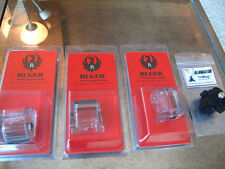 3 Pack Ruger AMERICAN RIMFIRE CLEAR Magazine .22lr Mags Alangator Mags 10 rd .22