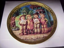 "M.J. Hummel Harmony in 4 Parts - 10.5"" Danbury Mint Very Fine Plate D-1429"