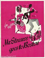 "Harold Lang ""MR. STRAUSS GOES TO BOSTON"" George Balanchine 1945 FLOP Program"