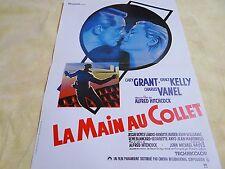 LA MAIN AU COLLET ! alfred hitchcock , grace kelly ; affiche cinema  ;: