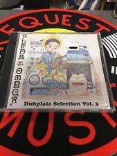 Alpha & Omega - Dubplate Selection Vol. 3 CD - UK DUB ALBUM - Steppas
