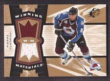 2006-07 SPx Winning Materials JERSEY #WM-PT Pierre Turgeon Colorado Avalanche